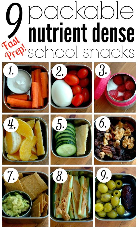Detox Snack Ideas Fgor School by 9 Packable Nutrient Dense School Snacks Raising