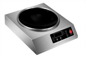 3 phase power induction cooktop induction wok cooktop quality induction wok cooktop for sale