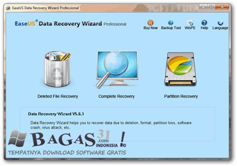 easeus data recovery full version bagas31 easeus data recovery wizard professional 5 8 0 full