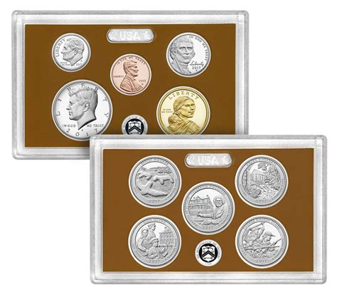 Set Mint proof set 2017 us mint