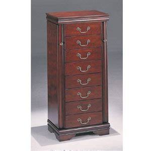louis philippe jewelry armoire jewelry armoire jewelry armoire in cherry louis philippe