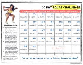 free printable squat challenge calendar free calendar