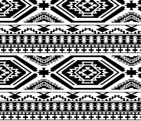 black and white aztec pattern fabric aztec geometric pattern black and white perfect repeats