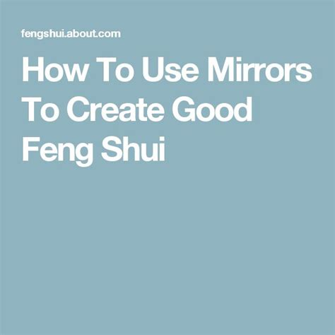 mirror placement feng shui feng shui tips how to use mirrors for good feng shui in your home feng