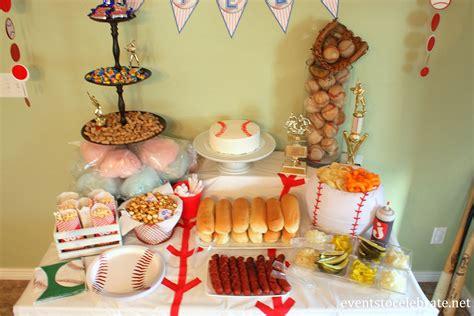 Kindergeburtstag Essen Ideen by Baseball Birthday Ideas Events To Celebrate