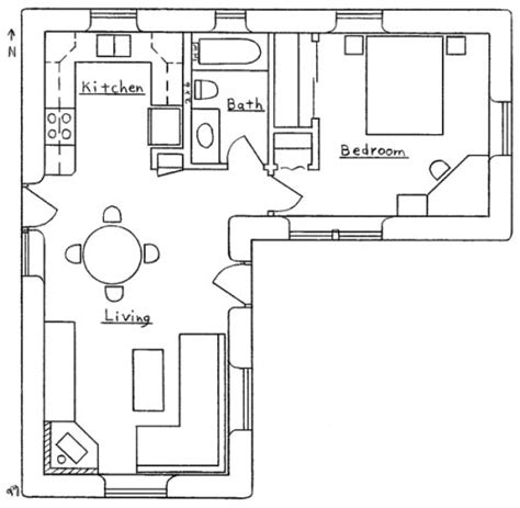 l shaped open floor plan l shaped house plan