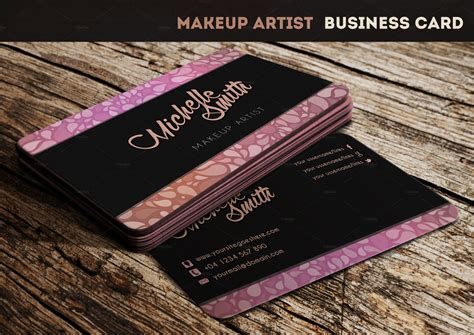 makeup buisness card template makeup artist business card business card templates on