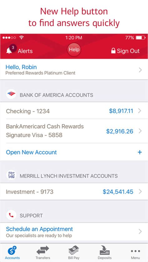 mobile banking bank of america bank of america mobile banking