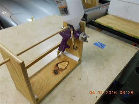 woodworking spray guns spray gun holder by jesinfla lumberjocks