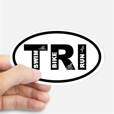 Auto Sticker Triathlon by Triathlon Car Accessories Auto Stickers License Plates
