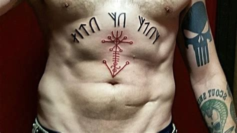 2 new viking tattoos runes amp galdrastafir youtube