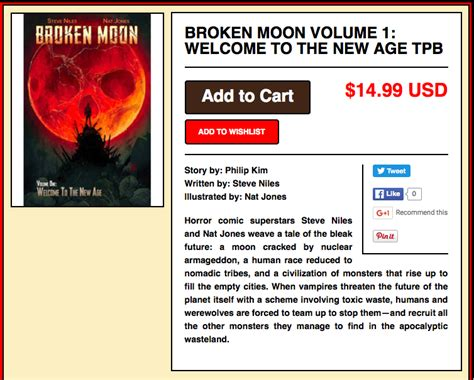 broken moon volume 1 books broken moon vol 1 welcome to the new age on captainco