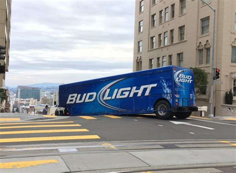 bud light truck driving jobs bud light semi truck driver apparently unfamiliar with