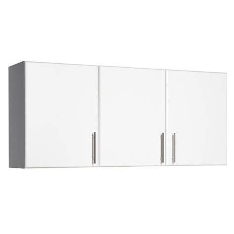 3 Door Kitchen Cabinet Prepac Elite 54 In 3 Door Wall Cabinet In White Wew 5424 The Home Depot