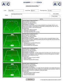 Soccer Lesson Plan Template by Sessions For Soccer Images