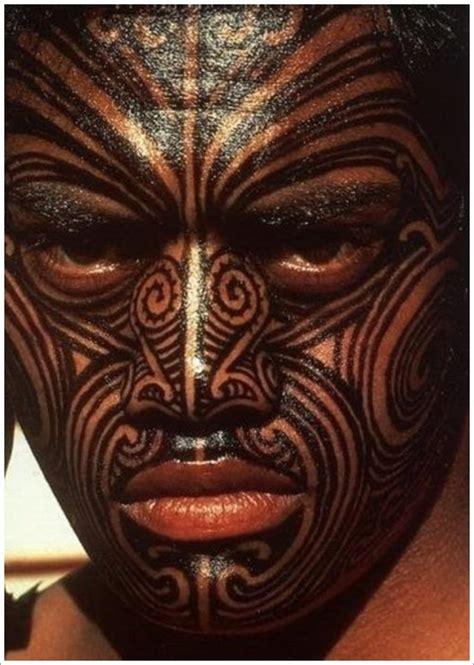 maori tattoo designs  odd stuff magazine