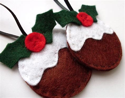 diy felt christmas tree ornaments modern world