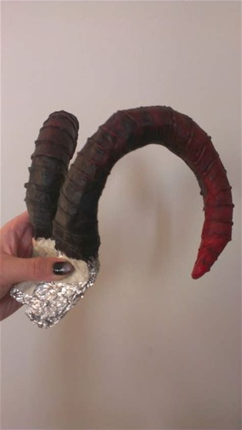 How To Make Paper Mache Horns - 17 best images about loki costume on