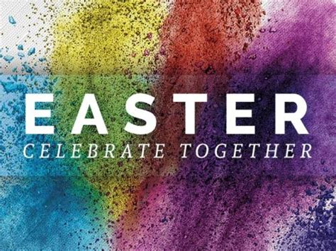 Church Powerpoint Template Easter Hillside Sermoncentral Easter