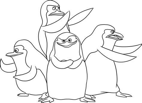 coloring pages of the penguins of madagascar madagaskar darmowe kolorowanki dla dzieci