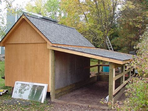 How To Add A Lean To On A Shed by Building A Lean To Addition Pictures To Pin On