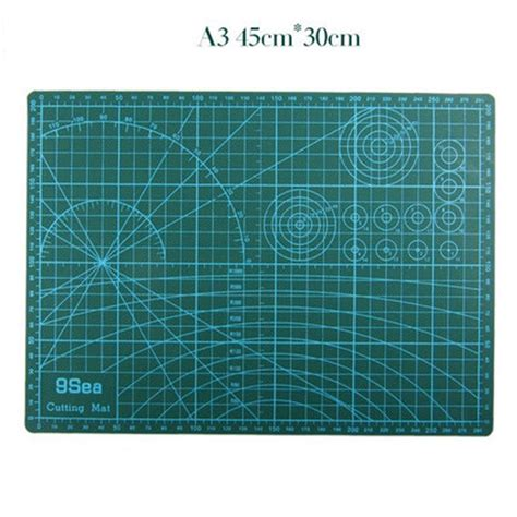 Work Cutting Mat Pad A3 45 X 30cm a3 cutting mat 45 30cm manual diy tool cutting board sided available self healing cutting