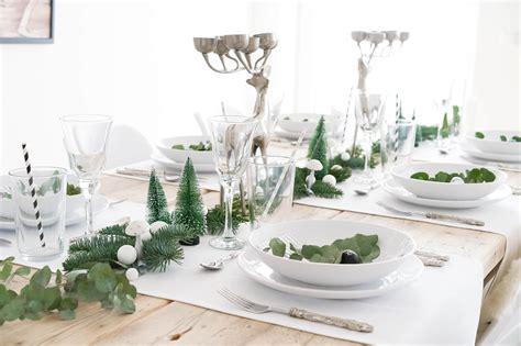 tischdeko weihnachten edel minimalistische tischdeko f 220 r weihnachten