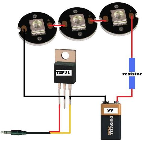 how big resistor for led which diagram would work best want leds to work at their max potential help