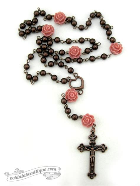 rose tattoo with rosary beads 25 best ideas about rosary bead on
