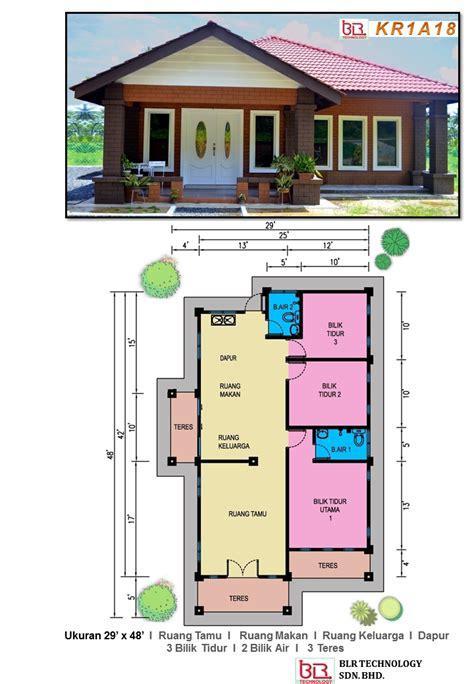 software untuk layout rumah banglo comey yang menarik ini menawarkan 3 bilik tidur 2