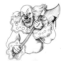 the gallery for gt evil clown tattoos drawings evil clown tattoo pictures images photos photobucket