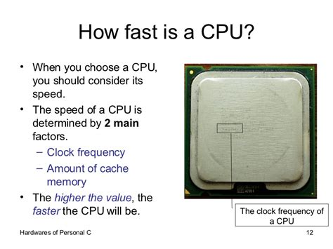how fast is a how fast is a cpu