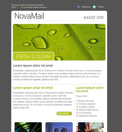 sle layout design newsletter modern newsletter templates free 28 images modern