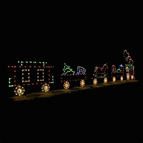 led animated train set five car 29 5 w