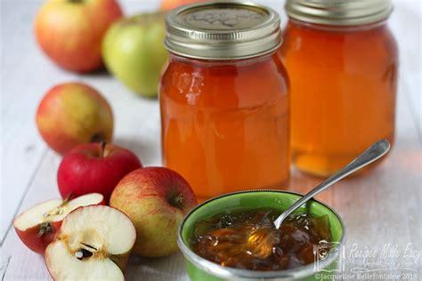 apple jelly recipes  easy