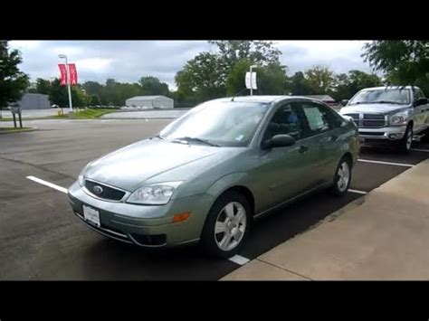 Elder Ford by 2006 Ford Focus Ses Zx4 Start Up And Tour