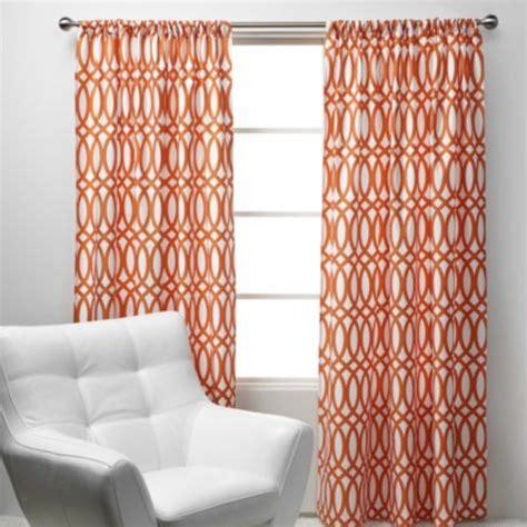 z gallerie drapes geo panels sunset orange from z gallerie things i