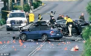 three people die on streets of las vegas after sports car