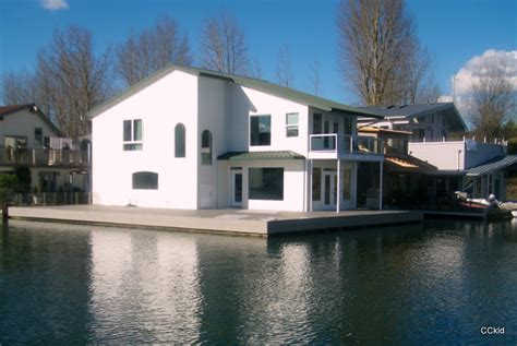 Ultra Modern Luxury Floating Home with Slip Ownership