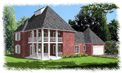 french colonial house plans house plan 60292 at familyhomeplans com