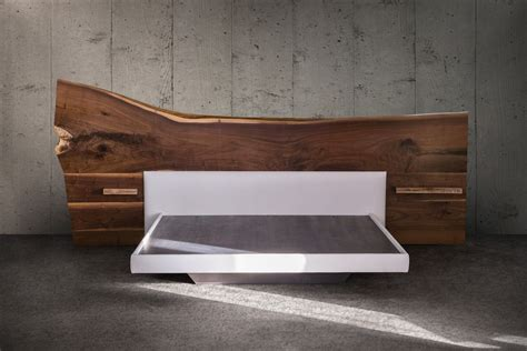 live edge bed beautifully blemished the appeal of live edge furnishings