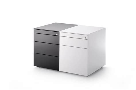 Office Cabinets. 3 drawer chest of drawers. MDF Italia.