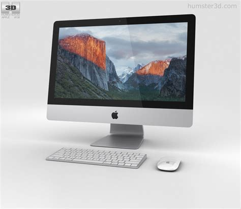 Apple Imac 21 5 apple imac 21 5 inch 3d model humster3d