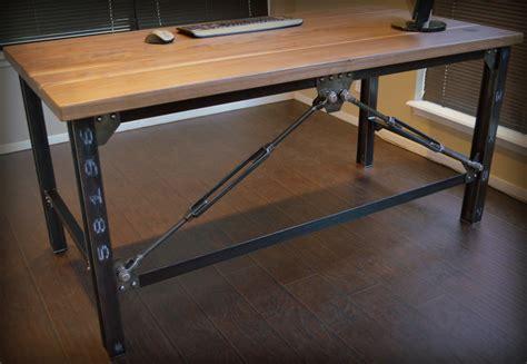 unusual desks unique woodiron industrial computer desk designs