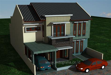 desain rumah renovasi desain renovasi rumah minimalis 2 lantai di tebet jakarta