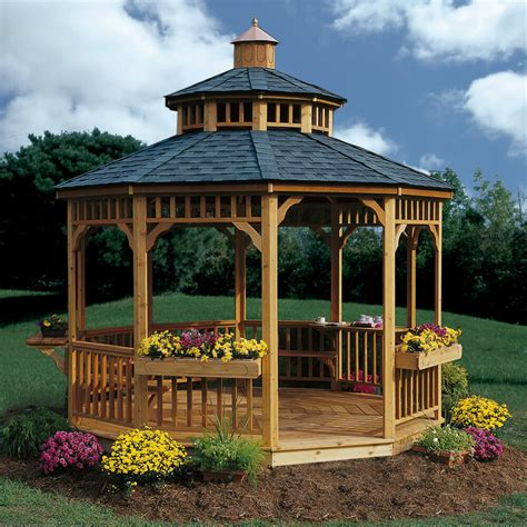 backyard gazebos triyae com backyard gazebo kits various design