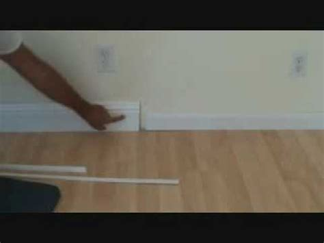 standard baseboard height installing baseboard what size base should i use youtube