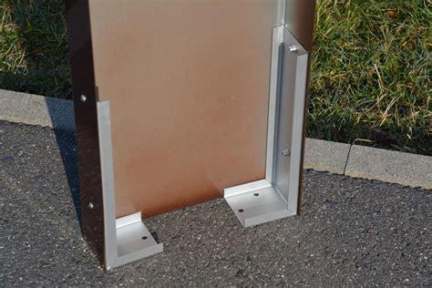 briefkasten stele briefkasten stele alles f 252 r haus und garten aus metall