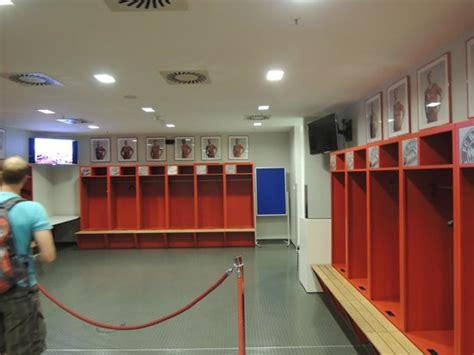 zone locker room mixed zone picture of allianz arena munich tripadvisor