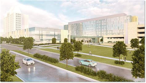 Slu Finder Ssm Health Louis Hospital And Slucare Unveil Renderings For New